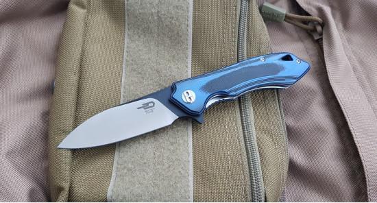 Bestech knives Beluga blue