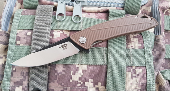 Bestech knives Spike brown