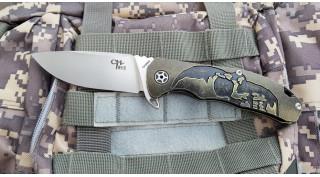 Нож складной CH Outdoor CH3504 Black