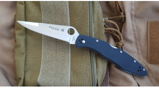 Нож складной Police