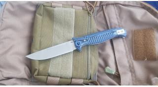 Нож складной Reptilian Финка 03 Синяя