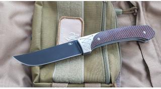 Нож складной Reptilian Пчак 1 red