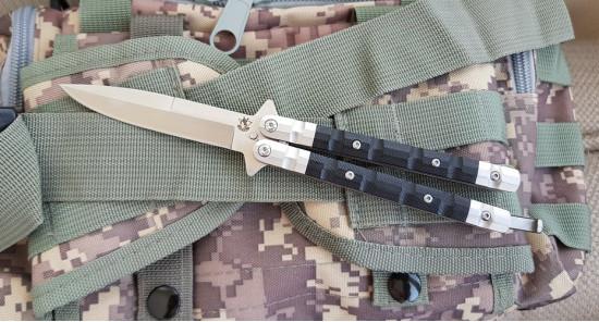 Нож Steelclaw Бабочка-2