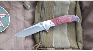Нож складной SteelClaw Резервист MAR05 (кап клена)