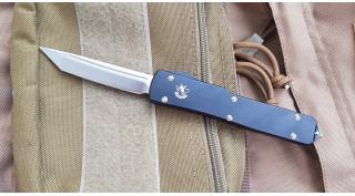 Нож SteelClaw MIC03 выкидной фронтального выброса