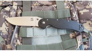 Нож складной SteelClaw Крыса carbon