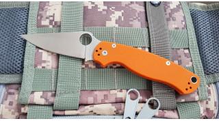 Нож складной  SteelClaw Боец 2 оранж
