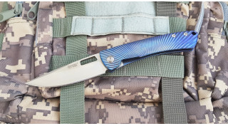 Нож складной Lion Steel TiSpine