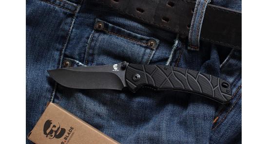 Нож Mr.Blade OSLAVA (black S/W)