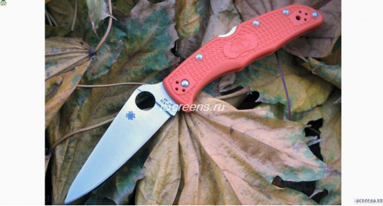 Spyderco ENDURA (orange) реплика