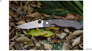Нож реплика Spyderco Military (BROWN)