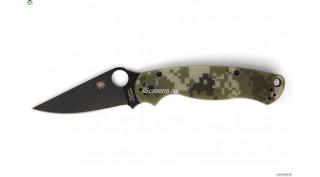 Нож реплика Spyderco Paramilitary 2 (CAMO-BLACK)