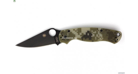 Spyderco Paramilitary 2 (CAMO-BLACK) Реплика