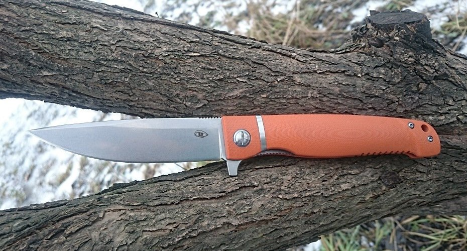 Нож Reptilian Карат оранж