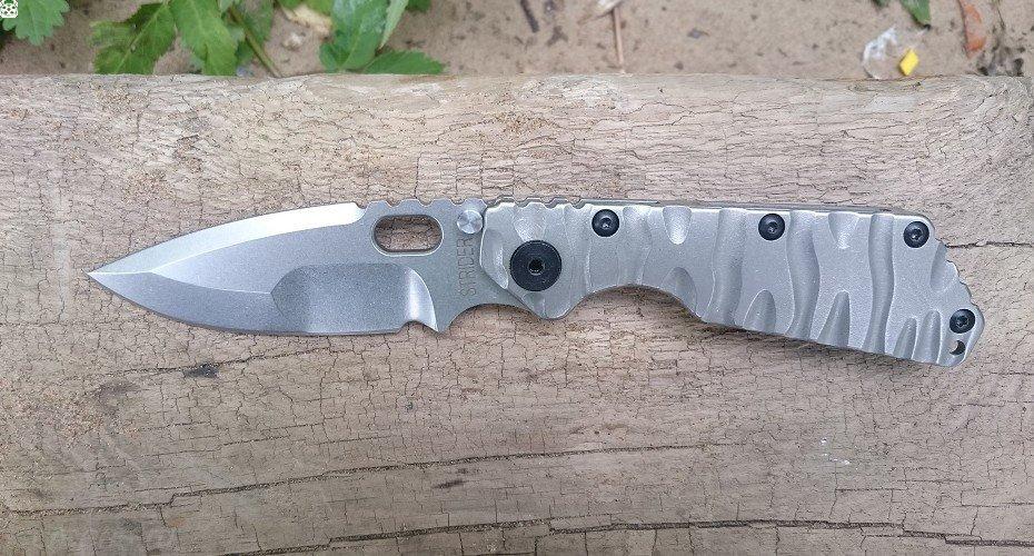 Нож Strider SMF BLACK DRAGON