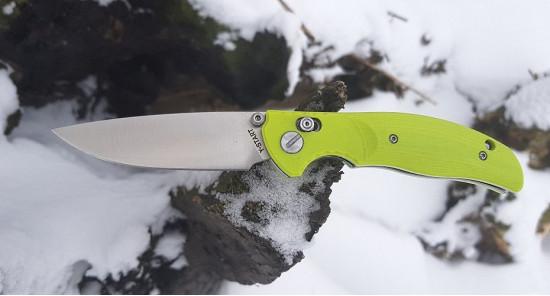 Нож Y Start Jin02 green