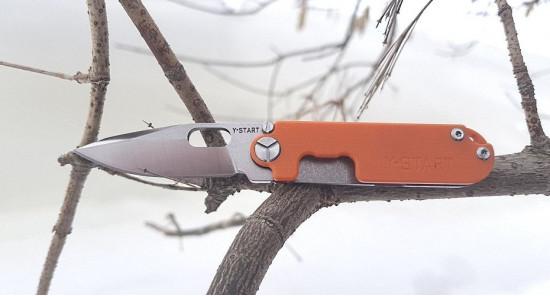 Нож Y Start Lk5009 orange